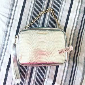 Victoria's Secret Metallic Shoulder Bag
